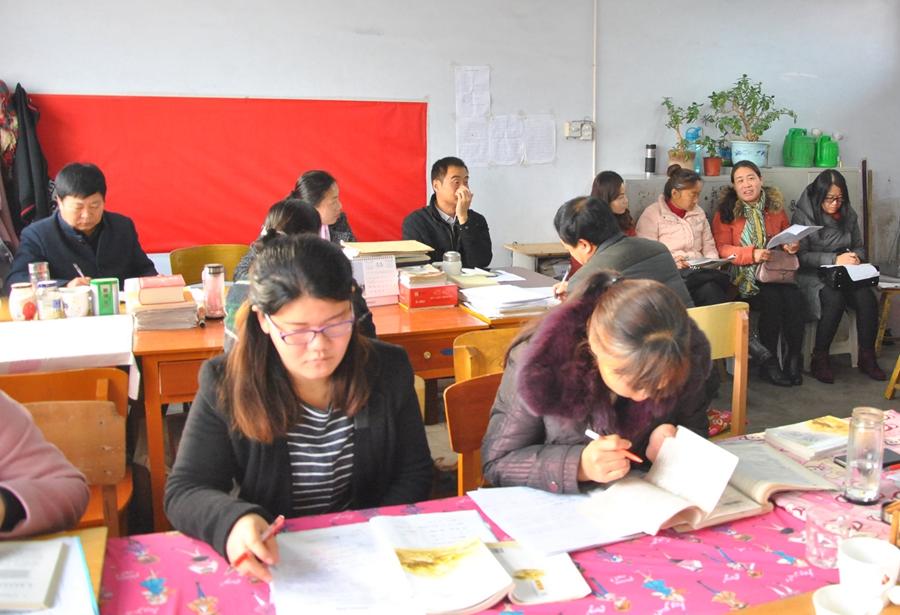 """局教研室率先在四中组织开展了"""" 沙口集中学、棘针寨中学等学校的图片"""